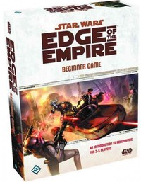 Star Wars: Edge of the Empire - Beginner Game (Role Playing Game) - Cover