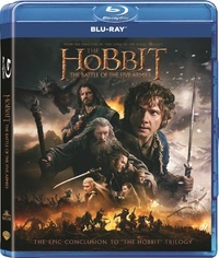 The Hobbit: Battle of the Five Armies (Blu-ray) - Cover