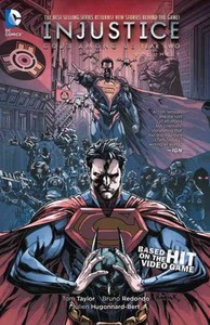 Injustice Gods Among Us Year 2 Vol. 1 - Tom Taylor (Paperback) - Cover