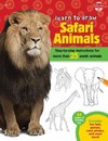 Learn to Draw Safari Animals - Robbin Cuddy (Paperback)