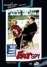 Fat Spy (Region 1 DVD) - Cover