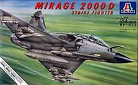 Italeri - 1/72 Mirage 2000D (Plastic Model Kit) - Cover