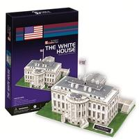 CubicFun - The White House (USA) 3D Puzzle (64 Pieces)