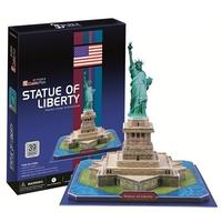 CubicFun - Statue of Liberty (USA) 3D Puzzle (39 Pieces)
