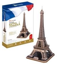 CubicFun - Eiffel Tower 3D Puzzle (82 Pieces) - Cover