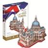 CubicFun - St Paul's Cathederal (UK) 3D Puzzle (107 Pieces)