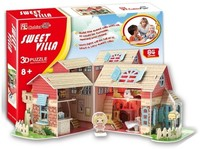 CubicFun - Sweet Villa 3D Puzzle (84 Pieces) - Cover