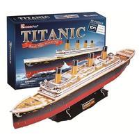 CubicFun - Titanic (Large) 3D Puzzle (113 Pieces)