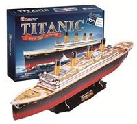 CubicFun - Titanic (Large) 3D Puzzle (113 Pieces) - Cover