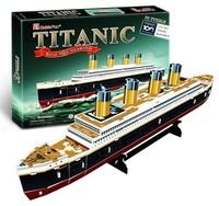 CubicFun - Titanic (Small) 3D Puzzle (35 Pieces) - Cover