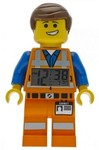 LEGO ClicTime - LEGO Movie - Emmet Figure Alarm Clock