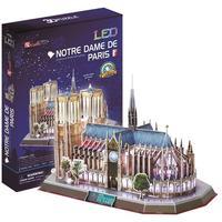CubicFun - Notre Dame Paris (France) with LED Unit 3D Puzzle (149 Pieces)