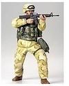 Tamiya - 1/16 Mod. US Infantryman Desert (Plastic Model Kit)