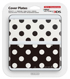 Nintendo new 3DS Cover Plates 15 - Black & White Dots