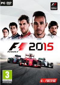F1 2015 (PC) - Cover