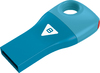 Emtec D300 - USB 2.0 Flash Drive - Car Key - 8GB - Blue