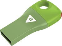 Emtec D300 - USB 2.0 Flash Drive - Car Key - 8GB - Green - Cover