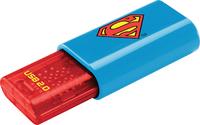 Emtec C600 USB 2.0 Flash Drive - Superman - 2D - 8GB - Cover