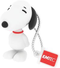 Emtec PN100 USB 2.0 Flash Drive - Snoopy - 8GB  - Cover
