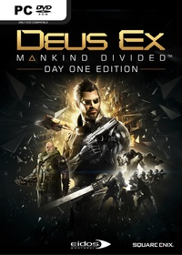 Deus Ex: Mankind Divided (PC Download) - Cover