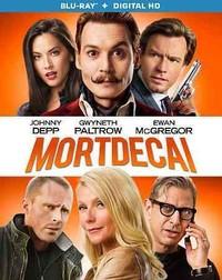 Mortdecai (Region A Blu-ray) - Cover