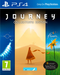 Journey: Collector's Edition (PS4) - Cover