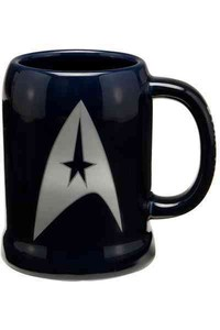 Star Trek 20 Oz. Ceramic Stein - LLC Vandor (Accessory) - Cover