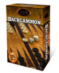 Backgammon (Board Game) - Cover