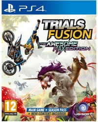 Trials Fusion: The Awesome Max Edition (PS4) - Cover