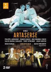Philippe Jaroussky - Artaserse (DVD) - Cover