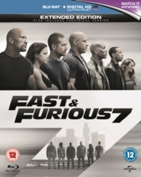 Fast & Furious 7 - Extended Edition (Blu-ray) - Cover