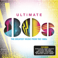 Various Artists - Ultimate....80's (CD) - Cover