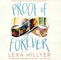 Proof of Forever - Lexa Hillyer (CD/Spoken Word) - Cover