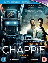 Chappie (Blu-Ray) - Cover