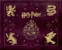 Harry Potter: Hogwarts Deluxe Stationery Set - . (Hardcover) - Cover