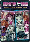 Monster High: Back to School & New Ghoul (DVD) Cover