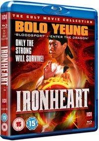 Ironheart (Blu-ray) - Cover