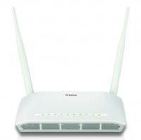 D-Link Wireless N ADSL2+ 4-Port Wi-Fi with 3G Failover - White - Cover