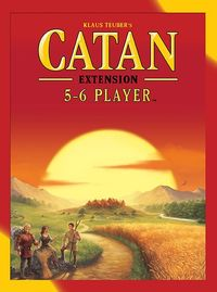 Catan - 5-6 Player Extension (Board Game) - Cover