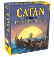 Catan - Explorers & Pirates Expansion (Board Game) - Cover