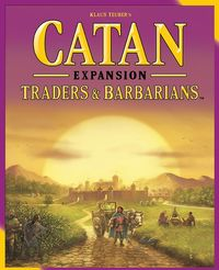 Catan - Traders & Barbarians Expansion (Board Game) - Cover