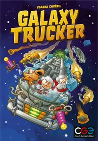 Galaxy Trucker (Board Game) - Cover