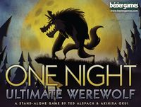 One Night Ultimate Werewolf (Party Game) - Cover