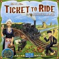 Ticket to Ride - Map Collection 4: Nederland (Board Game) - Cover