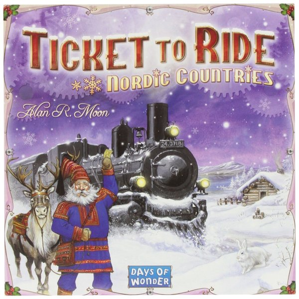 Ticket to Ride - Nordic Countries (Board Game)