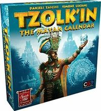 Tzolk'in: The Mayan Calendar (Board Game) - Cover