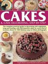 Cakes & Cake Decorating Step-by-step - Angela Nilsen (Paperback) Cover