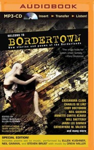 Welcome to Bordertown - Holly Black (CD/Spoken Word) - Cover
