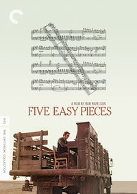 Five Easy Pieces (Region A Blu-ray) - Cover