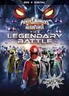 Power Rangers Super Megaforce: Legendary Battle (Region 1 DVD) Cover